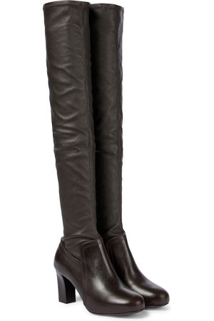 LEMAIRE Stretch-leather over-the-knee boots