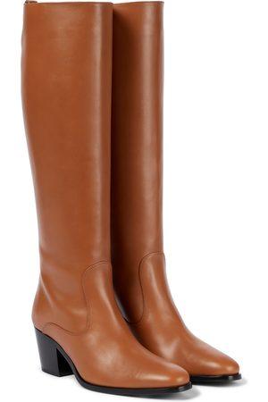 Tod's Dame Høye støvletter - Leather knee-high boots