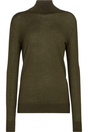 The Row Demme cashmere and silk knit sweater