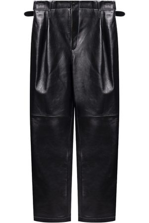 The Mannei Shobak leather trousers