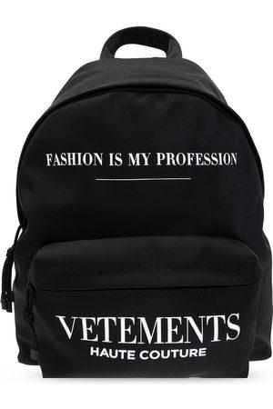 Vetements Herre Ryggsekker - Backpack with logo