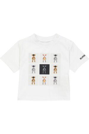 Burberry Baby Kortermede - Baby Thomas Bear cotton T-shirt