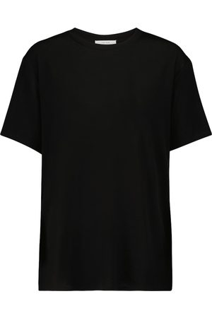 The Row Dedolo lyocell and cashmere-blend T-shirt