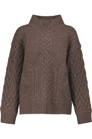 JONATHAN SIMKHAI Brynlee wool and cotton-blend sweater