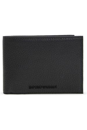Emporio Armani Leather wallet with logo