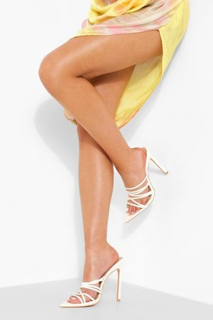 Boohoo Dame Flip flops - Pointed Strappy Mule