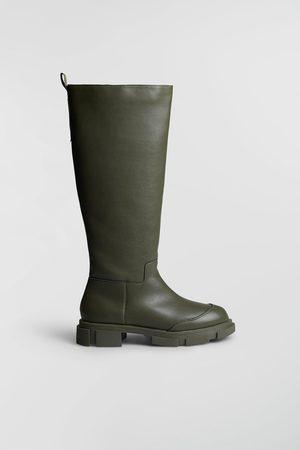 Gina Tricot Dame Høye støvletter - Amber knee high boots