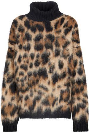 Dolce & Gabbana Leopard-print turtleneck sweater
