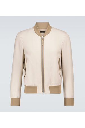 Tom Ford Exclusive to Mytheresa - Wool-blend bomber jacket