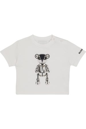 Burberry Baby printed cotton T-shirt