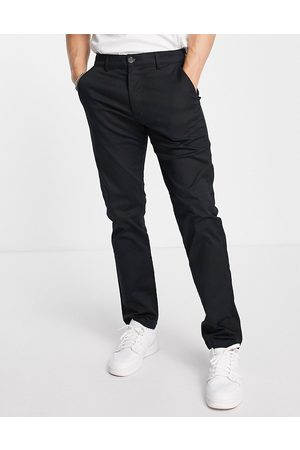 Selected Homme Herre Chinos - Chinos in straight fit in black