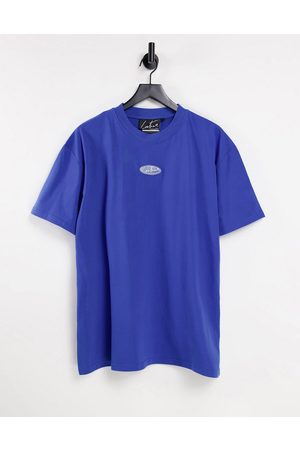 The Couture Club Co-ord bagdead t-shirt in cobalt blue