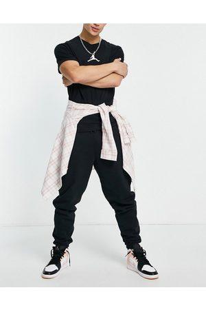 Jordan Herre Joggebukser - Nike fleece jogger in black