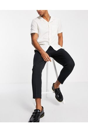 ASOS DESIGN Herre Chinos - Tapered smart trousers in black
