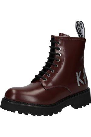 Karl Lagerfeld Ankelstøvlett med snøring 'TROUPE