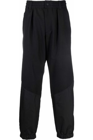Moncler Grenoble Herre Chinos - Straight-leg wool trousers