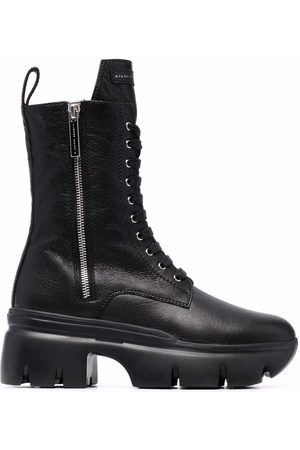Giuseppe Zanotti Dame Skoletter - Biker leather boots