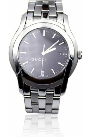 Gucci Vintage Stainless Steel Mod 5500 XL Wrist Watch Dial