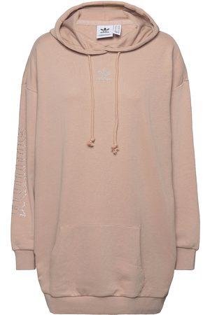 adidas Originals 2000 Luxe Hoodie Dress W Hettegenser Genser Rosa