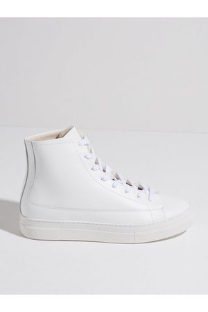 Selected Homme Slhdavid Chunky New Hightop Trainer Sneakers White