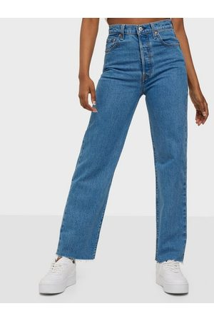 Levis Dame Straight - Ribcage Straight Ankle Jazz Wa