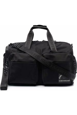 Karl Lagerfeld Herre Weekendvesker - Recycled polyester weekender bag