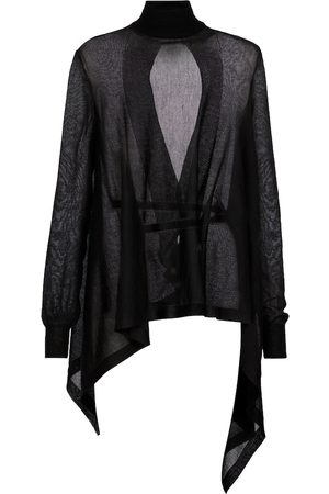 ANN DEMEULEMEESTER Alicia cashmere and silk sweater