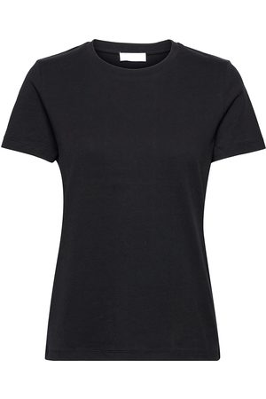 2nd Day Dame Kortermede - 2nd Frost Tt - Essential Cotton Jer T-shirts & Tops Short-sleeved