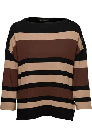 Betty Barclay Sweat Short 3/4 Sleeve T-shirts & Tops Long-sleeved Multi/mønstret