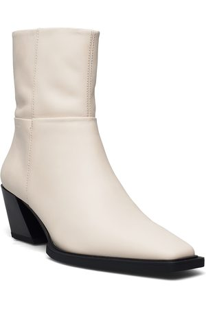 VAGABOND Alina Shoes Boots Ankle Boots Ankle Boot - Heel Creme