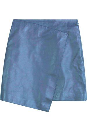 Dagmar Darda Leather Skirt