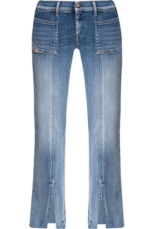 Diesel Dame Bootcut - Flared jeans with slits