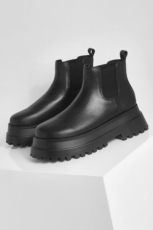 Boohoo Extreme Chunky Chelsea Ankle Boot