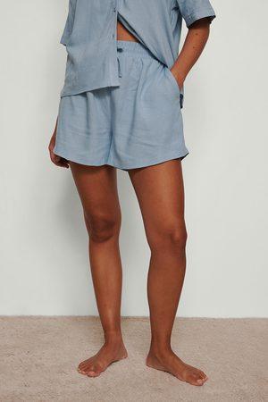 NA-KD Dame Shorts - Loungewear shorts i lin