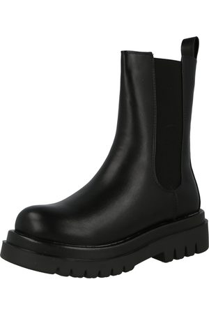 Missguided Chelsea Boots 'PULL ON TAB