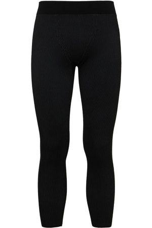 Jacquemus Herre Leggings - Knit Viscose Blend Leggings
