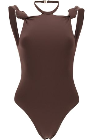 The Attico One-piece swimsuit with knots