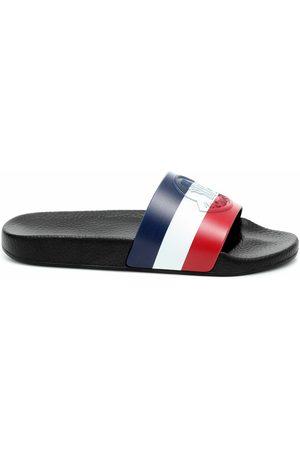 Moncler Striped Slides