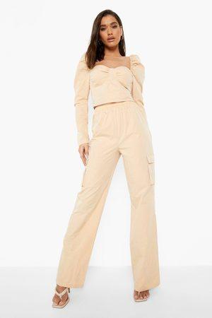 Boohoo Utility Pocket Detail Trousers