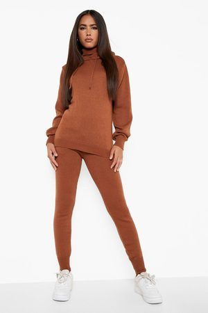 Boohoo Recycled Double Layer Knitted Hoody