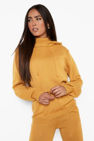 Boohoo Dame Hettegensere - Recycled Double Layer Knitted Hoody