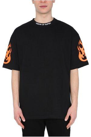 Vision Of Super Herre Kortermede - Fire' T-Shirt