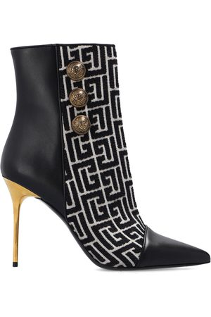 Balmain Monogrammed ankle boots