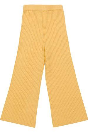 MORLEY Barn Chinos - Ona ribbed-knit wool pants