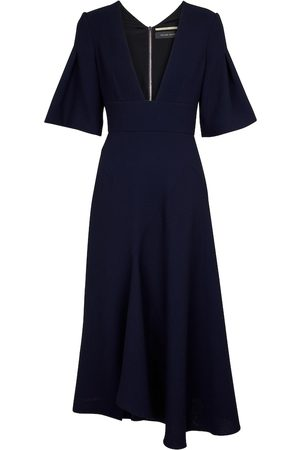 Roland Mouret Dame Midikjoler - Botez wool crêpe midi dress