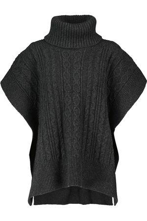 Chloé Dame Strikkegensere - Cable-knit wool-blend sweater