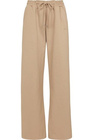 Frame Joggebukser - High-rise cotton-blend sweatpants