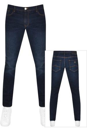 Armani J13 Slim Fit Jeans Bue