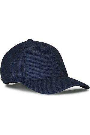 Varsity Herre Capser - Loro Piana Cashmere Baseball Cap Navy