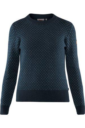 Fjällräven Dame Strikkegensere - Women's Övik Nordic Sweater